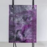Ghost Work (purple), 2016 Coloured polyester, black polyester rope 90 x 122 cm